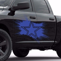 Dallas Cowboys Star NFL Car side vinyl sticker, car decal, car sticker  tr1897
