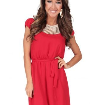 Little Red Wagon Dress | Monday Dress Boutique
