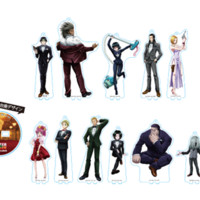Hunter x Hunter Animate Cafe Phantom Troupe Edition Goods Large Acrylic Stands