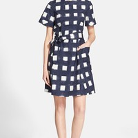 Women's Tory Burch Print Poplin Shirtdress