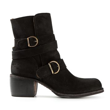 Fiorentini +  Baker buckled boots
