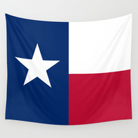 "The State flag of Texas - The ""Lone Star Flag"" of the ""Lone Star State"" Authentic Version Wall Tapestry by LonestarDesigns2020 - Flags Designs +"