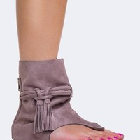 COVERED ANKLE SANDAL