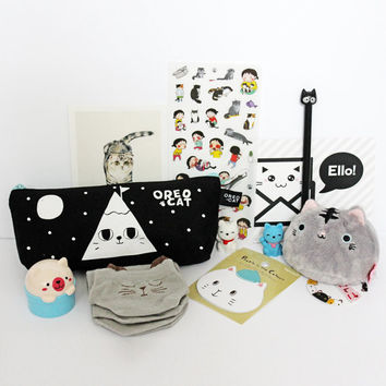 Kawaii Cat Lover Box - Filled with everything Cat related!