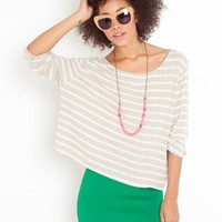 Seaside Stripe Tee in Clothes Tops at Nasty Gal