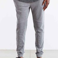 ourCaste Brody Knit Moto Jogger Pant- Grey