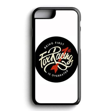 Being First Fox Racing iPhone 6   6S   6 Plus   6S Plus   5   5S   5C   4   4S Case