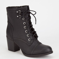 Madden Girl Westmont Womens Boots Black  In Sizes