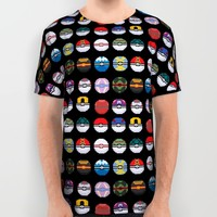 Pixel Master All Over Print Shirt by Halfmoon Industries
