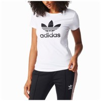 adidas Originals Trefoil T-Shirt - Women's at Foot Locker