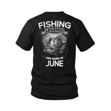 ESBV4S Fishing Legends Are Born In June Shirts