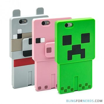 minecraft iphone case bling for nerds on wanelo 7227