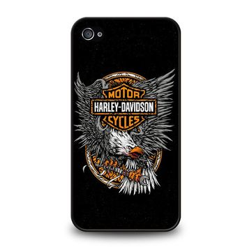 HARLEY DAVIDSON EAGLE LOGO iPhone 4 / 4S Case Cover