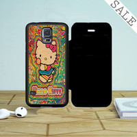 Hello Kitty Vintage Samsung Galaxy S5 Flip Case