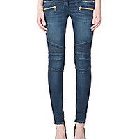 Balmain - Carryover Moto Jeans - Saks Fifth Avenue Mobile