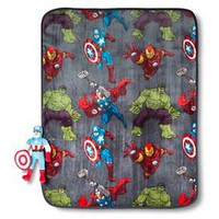 "Marvel Avengers Pillow and Throw Set 40x50"" : Target"