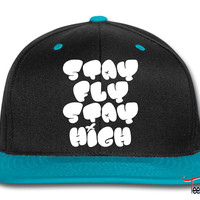 Stay Fly Stay High Snapback