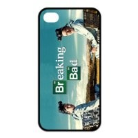 Fashion Breaking Bad Personalized iPhone 4 4S Rubber Silicone Case Cover -CCINO