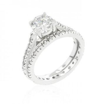 Glistening Engagement Ring Set (size: 10) (pack of 1 ea)