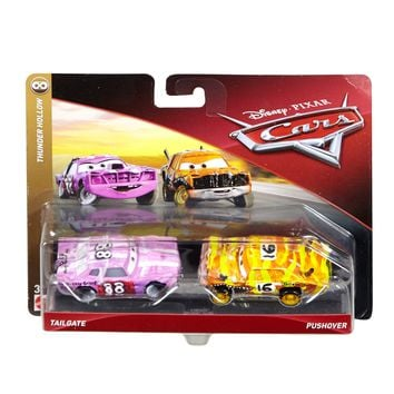 Cars 3 Diecast 1:55 Scale Movie Moments 2 pack- Tailgate Pushover