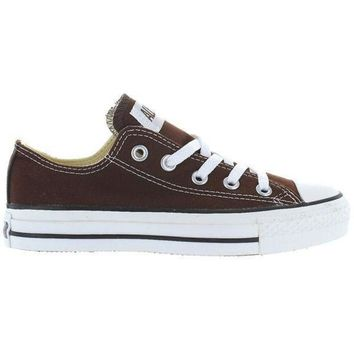 VONR3I Converse All Star Chuck Taylor Low - Chocolate Canvas Low-Top Sneaker