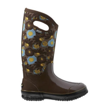 New Bogs Classic Watercolor Tall Women's Insulated Boots Free Shipping
