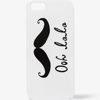 Ooh La La Mustache Phone Case