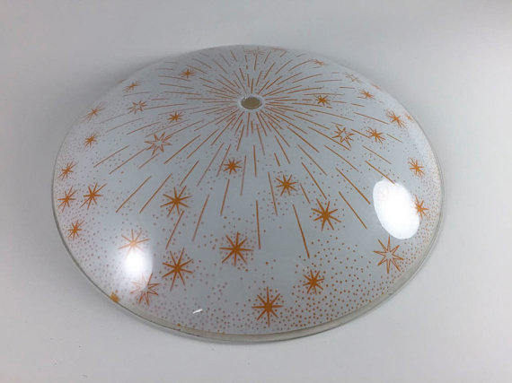 Vintage Starburst Atomic Mid Century From Living A Vintage