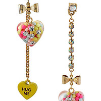HEART CANDY MISMATCH EARRING