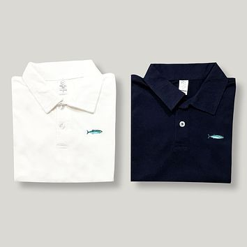 Glass Minnow Polo Tee