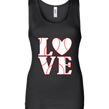 LOVE Baseball Womens Tank or Tee