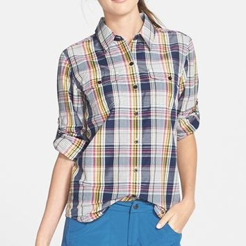 Women's Patagonia 'Overcast' Long Sleeve Plaid Shirt