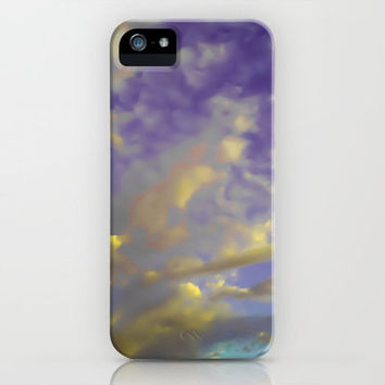 Candy Clouds iPhone Case by Elizabeth Seward | Society6