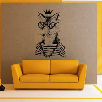 ik2944 Wall Decal Sticker animal fox living room bedroom