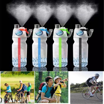 2017New COB LED Camping Sport Bottles With Emergency Lights Portable Climbing Camp Bottles  #EW