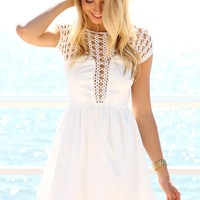 Mermaid Dress - White | SABO SKIRT