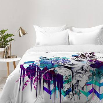 Holly Sharpe Tribal Girl Colourway Comforter