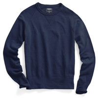Slub Sweatshirt in Mast Blue