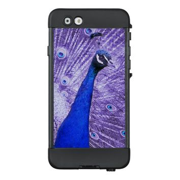 Blue And Purple Peacock LifeProof® NÜÜD® iPhone 6 Case