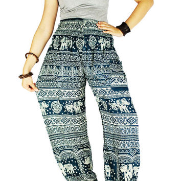 Elephant clothes Thai pants Hippie clothes Palazzo pants Hippie pants Gypsy pants  Harem pants Elephant pants