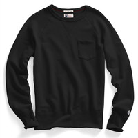 Classic Pocket Sweatshirt in Black