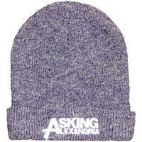 Asking Alexandria Men's Logo Beanie Purple