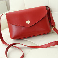 Heart Envelope Casual Sling Bag