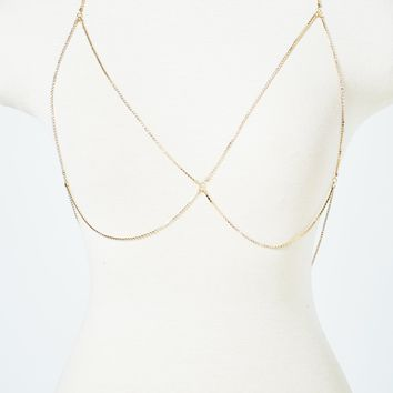 Wide Choker Wild Night Body Chain