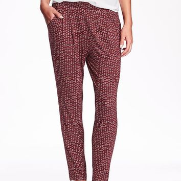 Old Navy Womens Printed Soft Pants