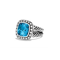11mm Hampton Blue Topaz Moonlight Ice Ring - David Yurman