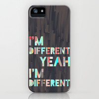 I'm Different iPhone Case by Jacqueline Maldonado | Society6