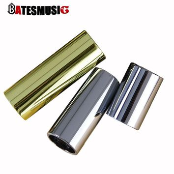 Stainless Steel Guitar Tone Slider Guitar String Ring Slides for Tone 70 60 40mm