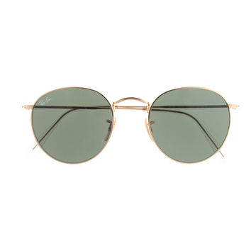 J.Crew Womens Ray-Ban Retro Round Sunglasses