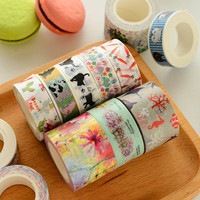10 20 25 30mm x 10m Japanese Washi Tape Scrapbooking Stickers Masking Decorative Scotch Tape For Post Card Planner Papeleria